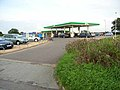 Filling station at the junction of Houghton Road and Old Brampton Road, Carlisle - geograph.org.uk - 248411.jpg