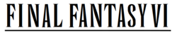 Immagine Final Fantasy VI wordmark.png.