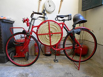 Bicycle - Firefighter bicycle