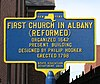 First Church in Albany Historical Marker.jpg