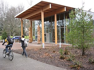 University of Victoria - First Peoples House serves as a cultural, social, and academic centre for indigenous students at the university.
