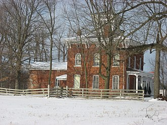 Perry Township, Allen County, Indiana - Fisher West Farmhouse, a historic site in the township