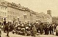 Fiskerkonerne på Gammelstrand 1887.jpg