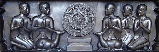 Five disciples at Sarnath