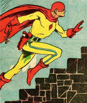 Superhero - Fox Feature Syndicate's 1930s–1940s superhero the Flame.