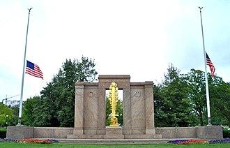 Second Division Memorial - Second Division Memorial