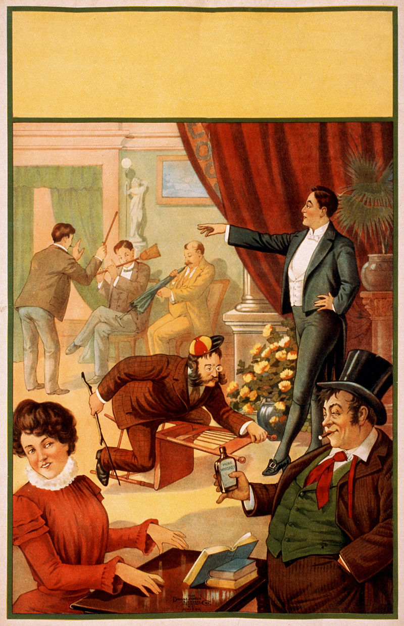 Flickr - …trialsanderrors - You dreamt you were a hypnotist^ Stock poster, ca. 1900.jpg