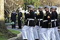 Flickr - Official U.S. Navy Imagery - French Chief of Naval Staff remarks to Chief of Naval Operations about a Marine Corps honor guard troop movement..jpg