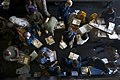 Flickr - Official U.S. Navy Imagery - Sailors and Marines sort through mail in the hangar bay..jpg