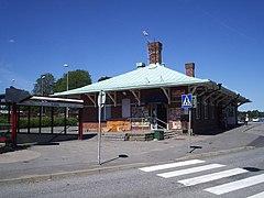 Floda jernbanestation, den 15 juli 2006.   JPG