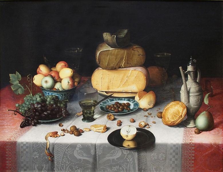 File:Floris Claesz van Dijck Stillleben mit Käse.jpg