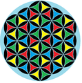 Flower of life 4-color triangles.png