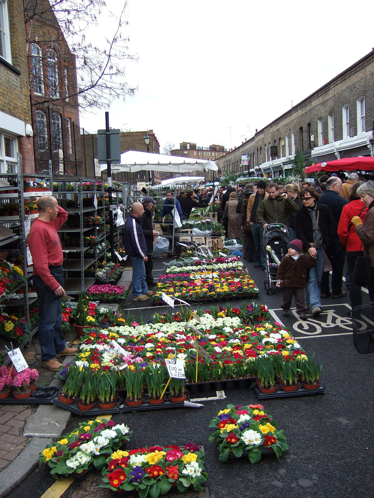 Columbia Road Flower Market Wikipedia