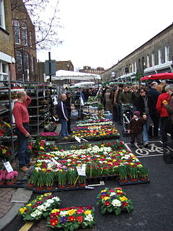 London Outdoor Market Artish Foods