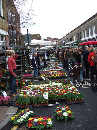 Columbia Road Flower Market - Flowers for sale