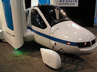 New York International Auto Show - Image: Flying Car at New York International Auto Show 2012