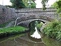 Foden Bank Bridge (No 43), Macclesfield Canal, Cheshire - geograph.org.uk - 552281.jpg