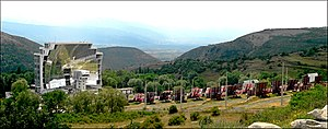 Font-Romeu-Odeillo-Via - The solar furnace at Odeillo