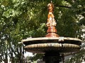 Fontana in bronzo (piazza Luigi Settembrini).JPG