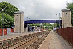 Photo of Marple railway station