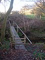 Footbridge over North End Stream - geograph.org.uk - 1099548.jpg