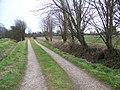 Footpath, Donnington - geograph.org.uk - 1750141.jpg