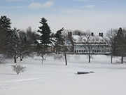 Forbes College from College Rd West