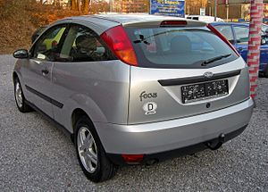 Ford Focus (first generation) - 3-door hatch (pre-facelift)