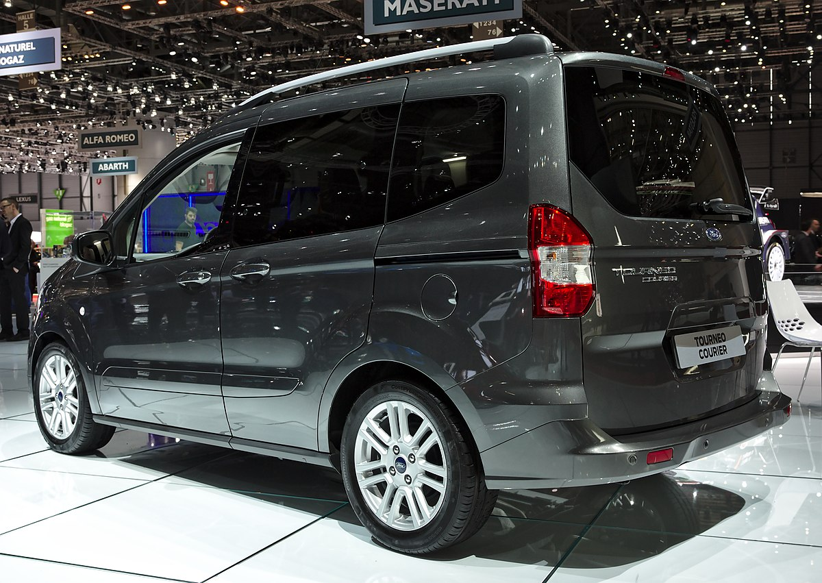 File Ford Tourneo Courier Back Genf 2018 Jpg Wikimedia Commons