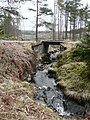 Forestry bridge over Allt Coire a'Bheithe - geograph.org.uk - 776825.jpg