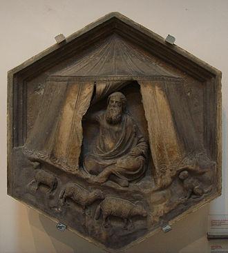 Jabal (Bible) - Image: Formella 04, jabal, andrea pisano, 1334 1336