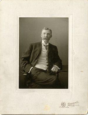 David Forsyth (soccer) - Forsyth, circa 1900