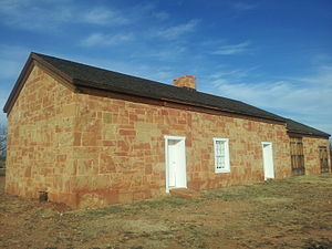 Butterfield Overland Mail - Image: Fort Chadbourne Stage Station