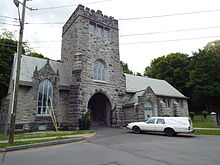 Fort Hill Cemetery Gatehouse.JPG