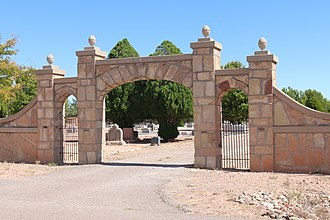 National Register of Historic Places listings in De Baca County, New Mexico - Image: Fort Sumner Cemetery entry