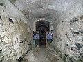 Fort des Quatre Seigneurs - Couloir - vue vers l'intérieur.JPG