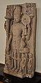 Four-armed Vishnu - Mediaeval Period - Aligarh - ACCN 86-154 - Government Museum - Mathura 2013-02-23 5267.JPG