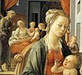 Fra Filippo Lippi - Madonna with the Child and Scenes from the Life of St Anne (detail) - WGA13239.jpg