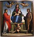 Fra bartolomeo, madonna col bambino in trono e santi, 1530 ca., da duomo, 01.JPG