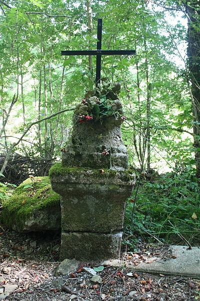 Fraisse-sur-Agout (Hérault) - croix aux Hers.