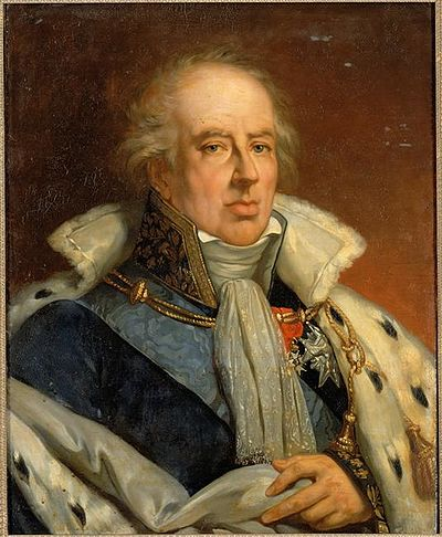The Duke of La Rochefoucauld, Thiers' first employer in Paris Francois XII de La Rochefoucauld (1747-1827).jpg