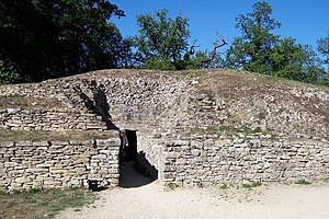Bougon - The tumulus in Bougon