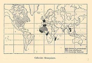Francia y sus colonias en 1894