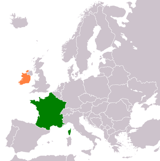 Diplomatic relations between the French Republic and Ireland