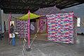 Francesco Clementes peper tent at kochi muziris bienelle2014.JPG