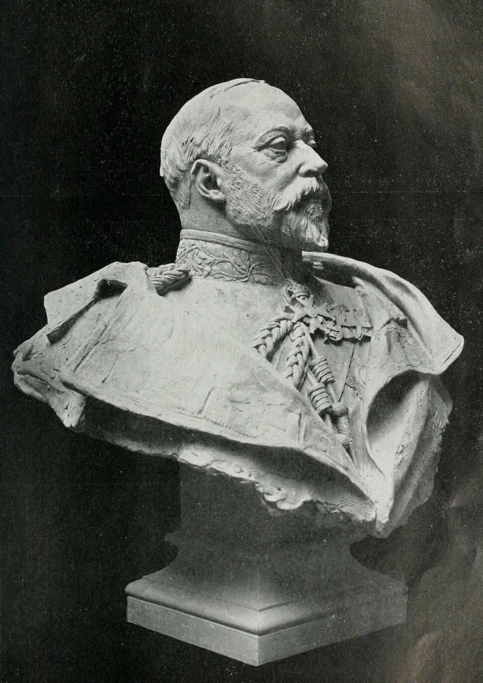 Francis Derwent Wood - Edouard VII