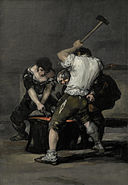 Francisco Goya y Lucientes, de - La fragua - Google Art Project.jpg