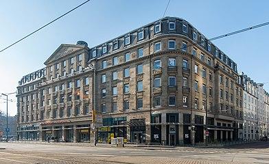 Frankfurt Niddastraße 71–75.Düsseldorfer Straße 1–7.Hotel Hohenzollern.20130401.jpg