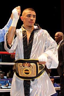 Frankie Gómez American boxer