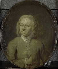 Portrait of Frans van Steenwijk, Poet and Playwright in Amsterdam